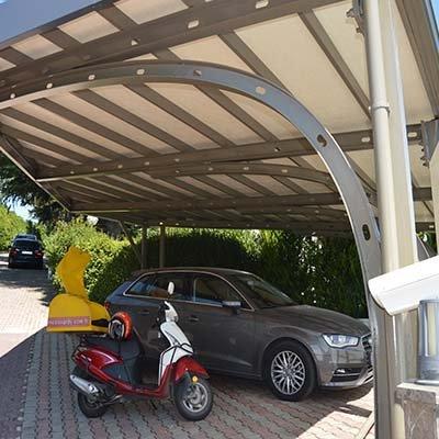 Ortaköy Otopark Carport Uygulaması